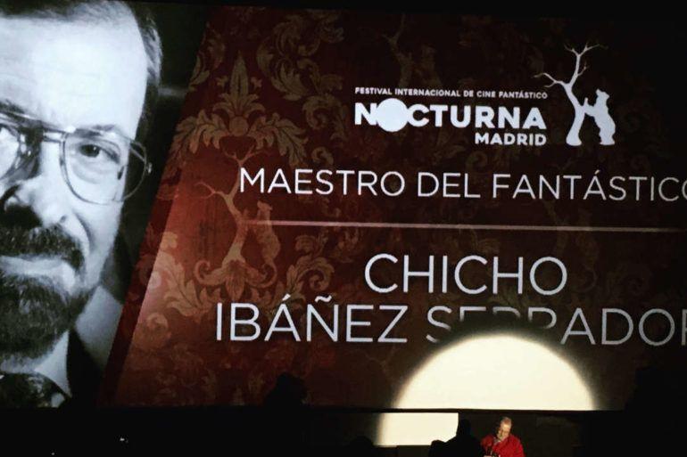 Chicho Ibáñez Serrador, Maestro del Fantástico 2017