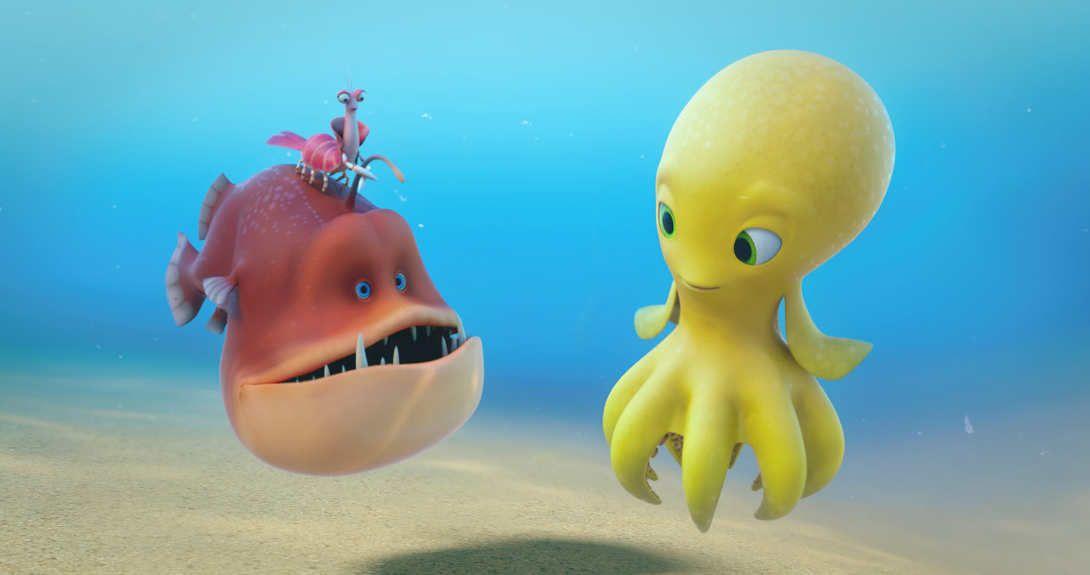 Deep, Evo y Alice tendrán que adentrarse en el océano