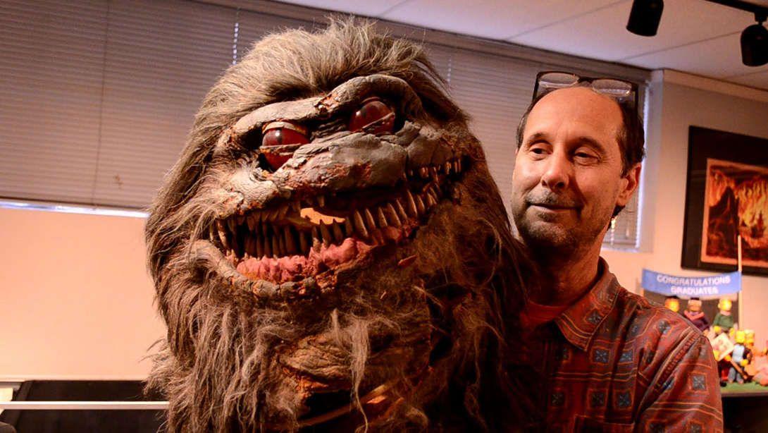 """Una marioneta de un Critter mostrada en el documental """"The Frankenstein Complex"""""""