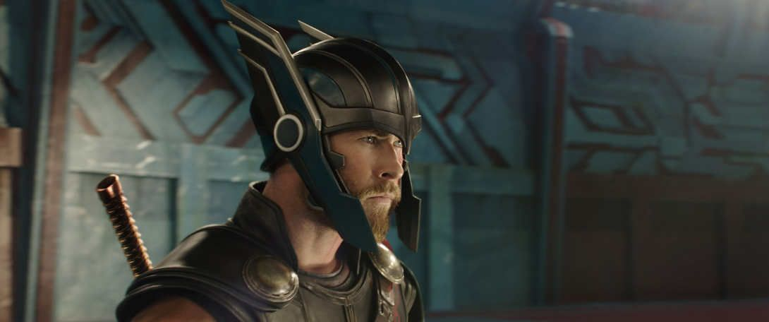 "Chris Hemsworth en ""Thor: Ragnarok"""