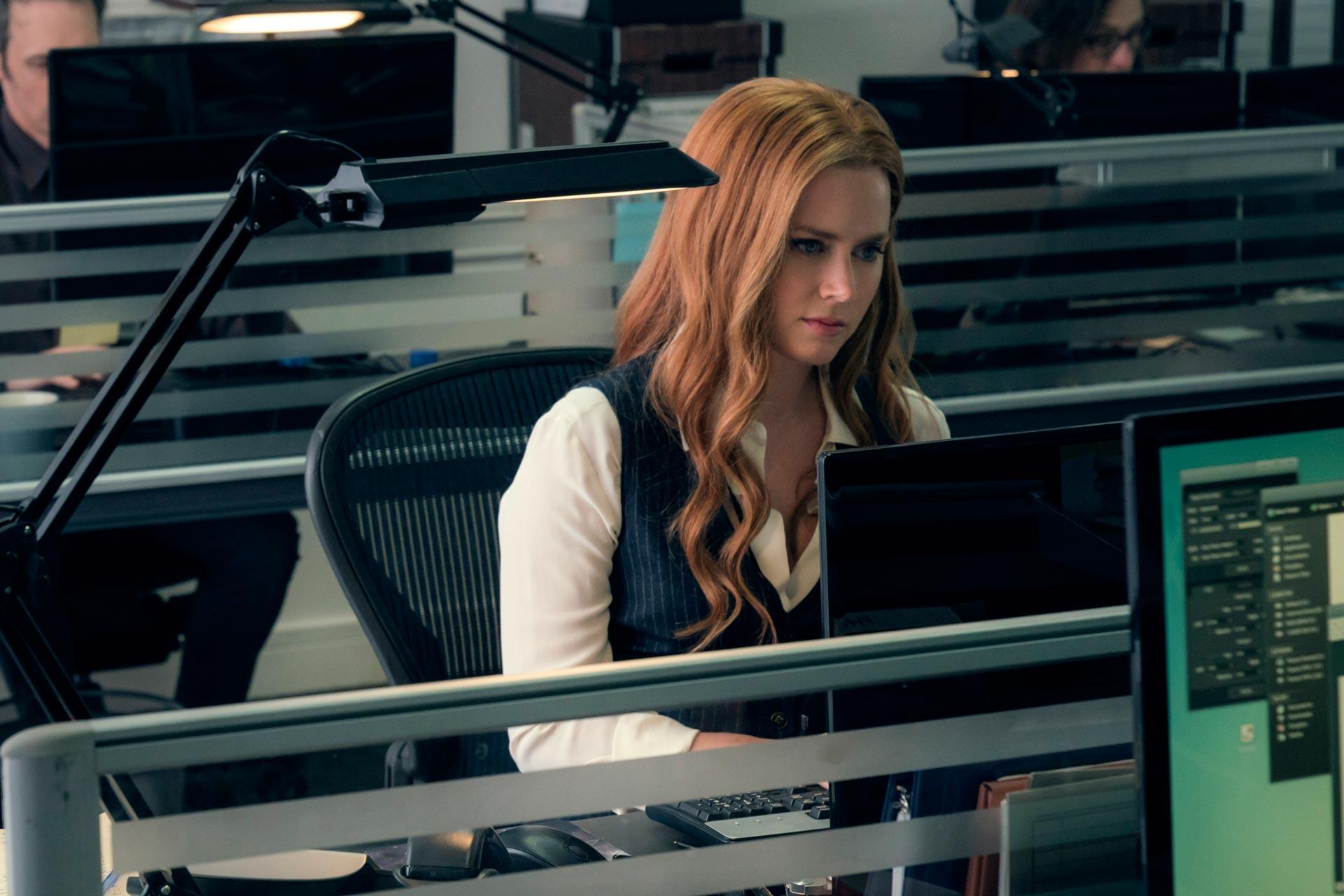 """AMY ADAMS como Lois Lane la película de """"Liga de la justicia""""."""
