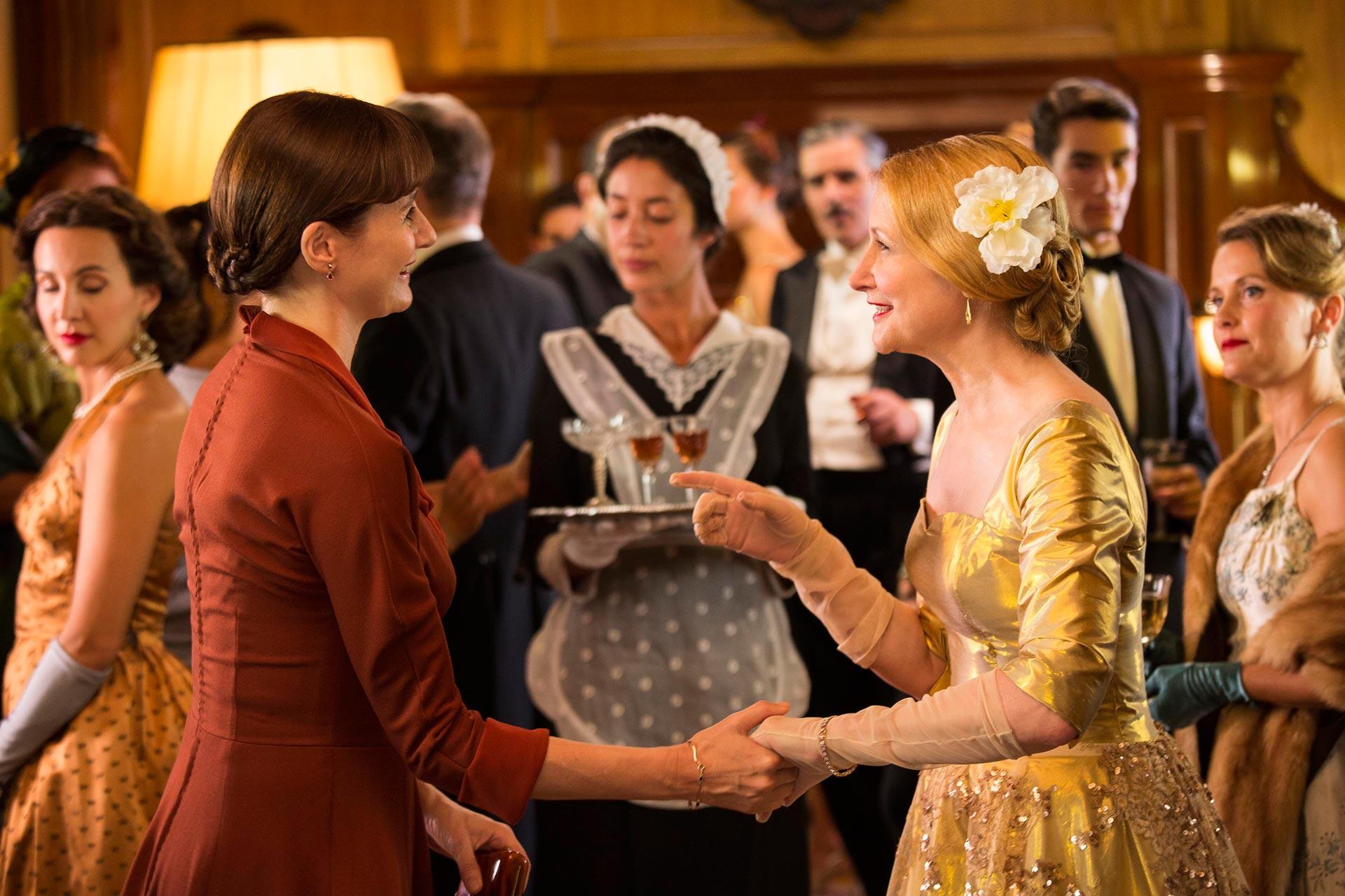 La librería - Foto de las actrices Emily Mortimer y Patricia Clarkson