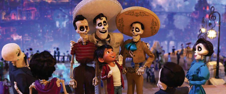 Una escena de la película Coco, lo nuevo de Disney y Pixar