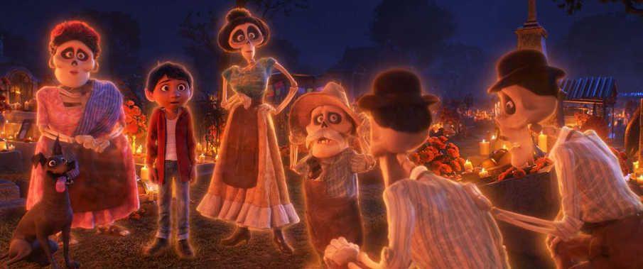 Miguel se reúne con sus antepasados