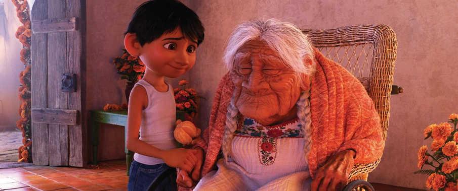 Coco y Miguel, dos generaciones unidas por una aventura