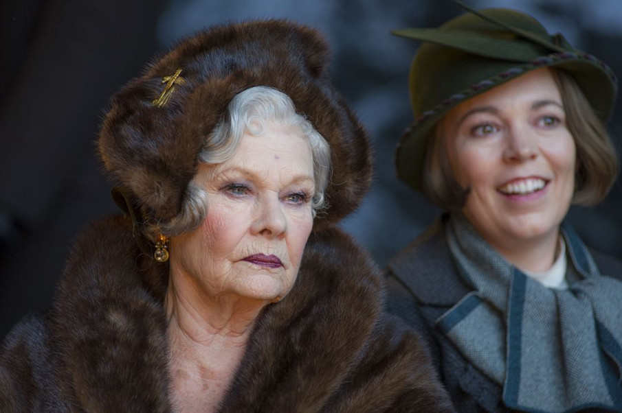 Judi Dench y Olivia Colman en la película Asesinato en el Orient Express