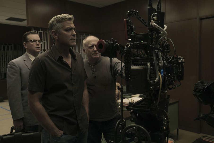 George Clooney, director de Suburbicon, durante su rodaje.