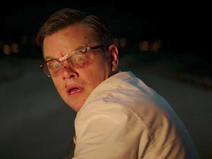 Matt Damon en una escena de la película.