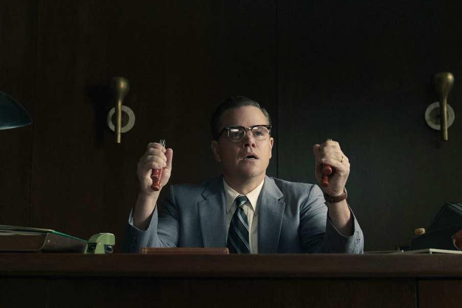 Matt Damon en una imagen de la película Suburbicon