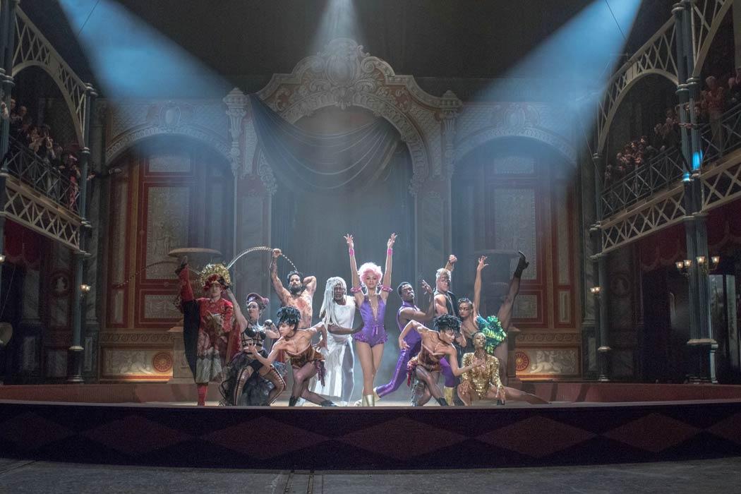 """Imagen de la película musical """"El gran Showman"""""""