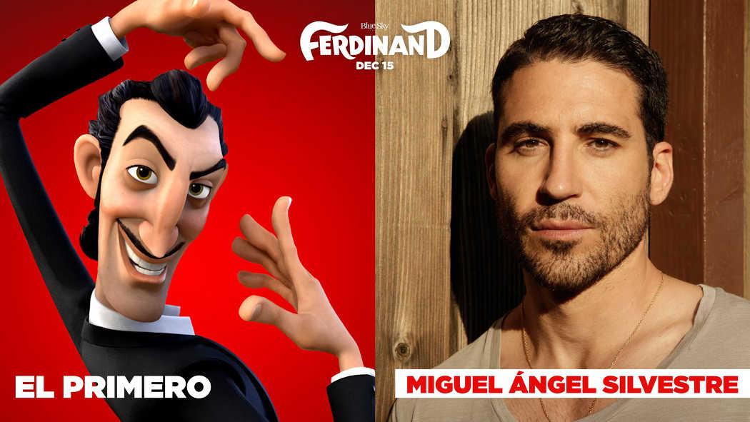 """Miguel Ángel Silvestre pone voz al torero en """"Ferdinand"""""""