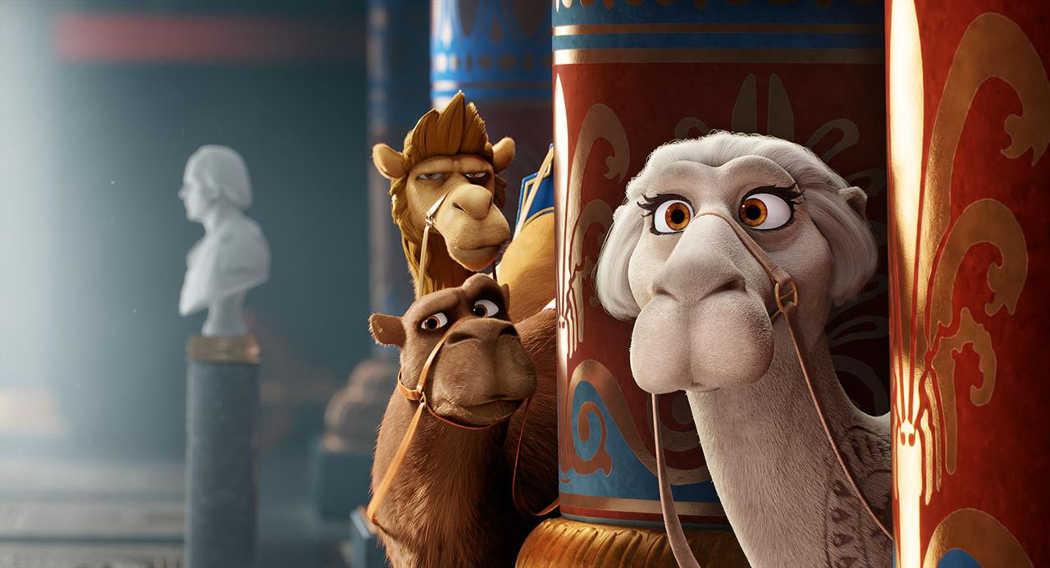 Los camellos de los Reyes Magos