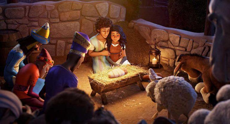 El nacimiento del Niño Jesús en el Portal de Belén