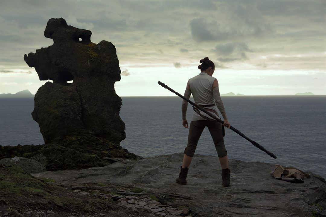 """Daisy Ridley en """"Star Wars: Los últimos Jedi"""""""