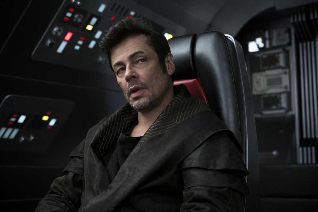 Benicio Del Toro en la nueva entrega de Star Wars 8