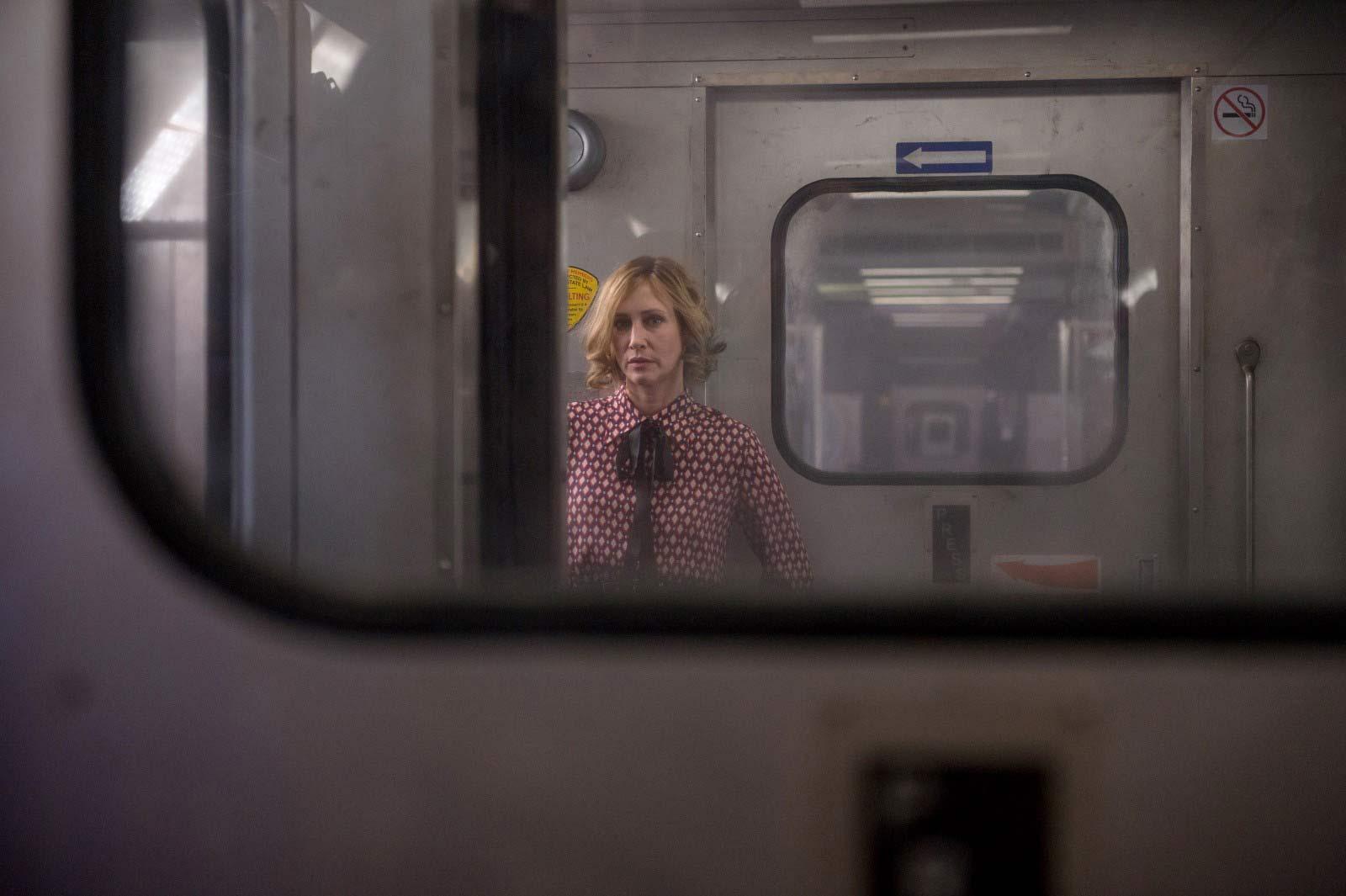 """Vera Farmiga en una escena de """"El pasajero"""""""