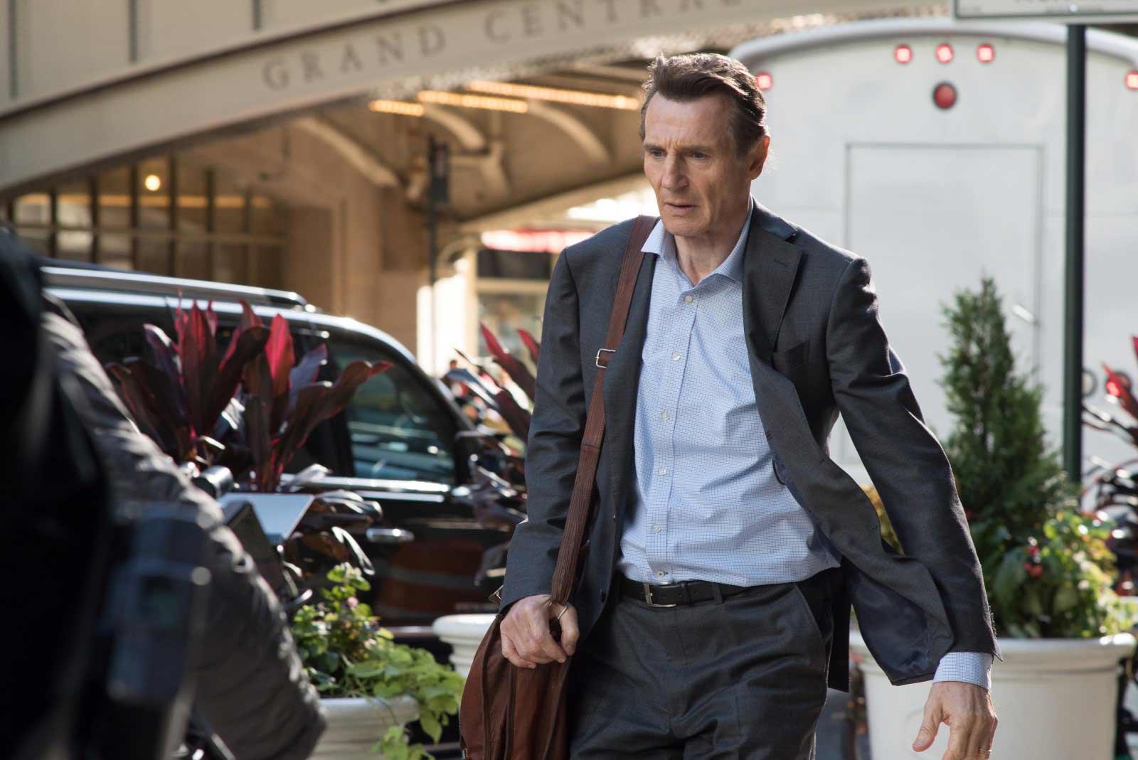 """Liam Neeson es el protagonista de """"El pasajero"""" (2018)"""