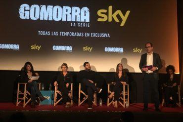Presentación en Madrid de la serie de televisión Gomorra