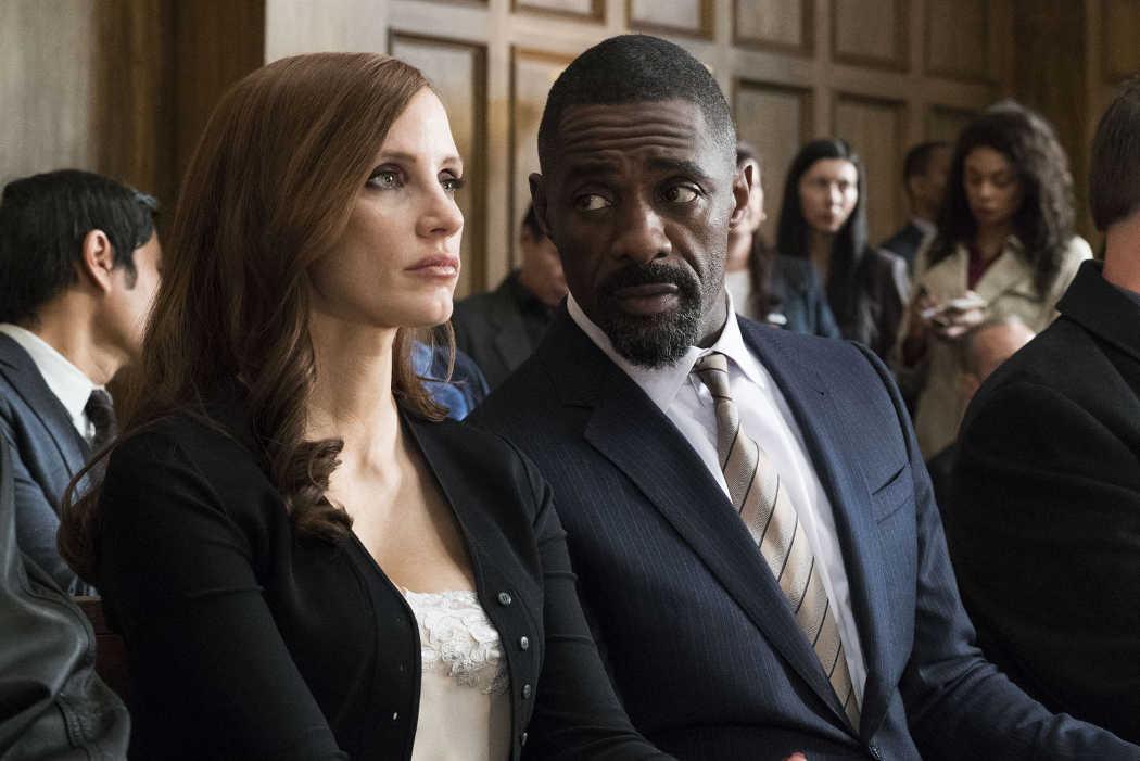 Idris Elba y Jessica Chastain protagonizan la película