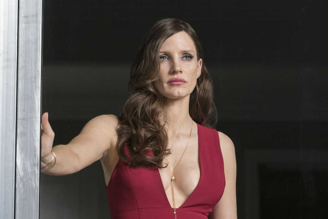 Jessica Chastain es Molly Bloom, la princesa del póquer
