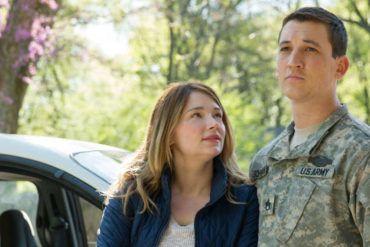 """Miles Teller y Haley Bennett en la película """"Deber cumplido"""""""