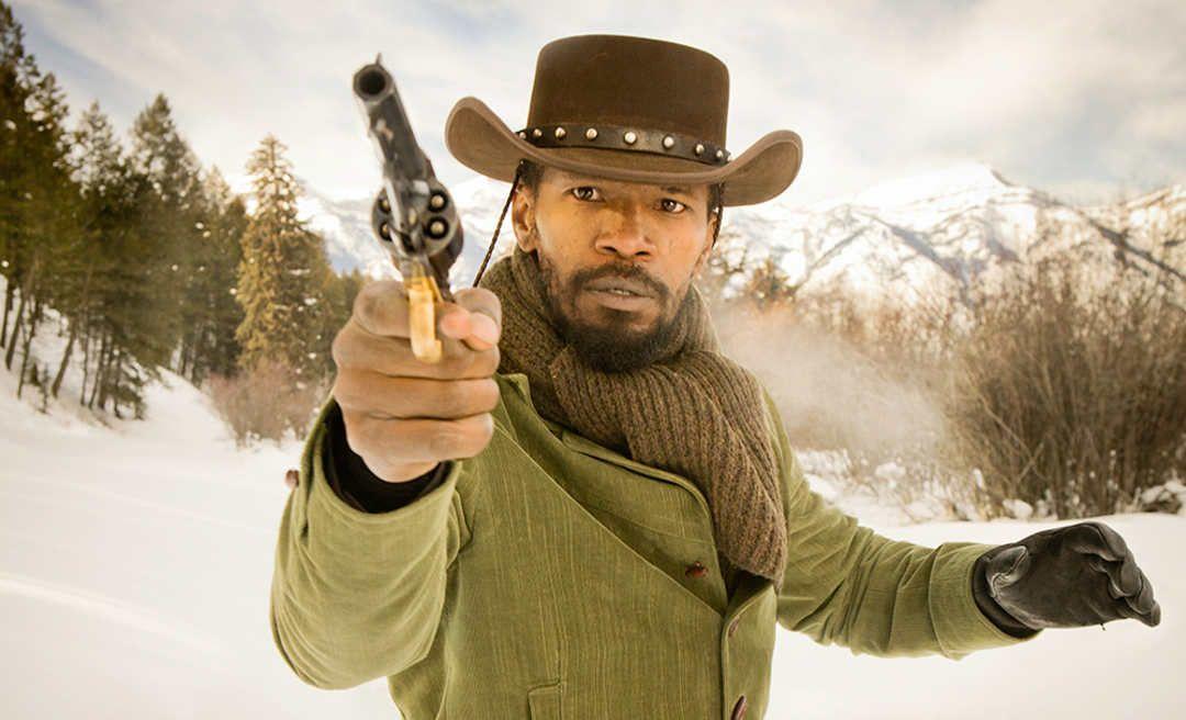 Jamie Foxx es Django