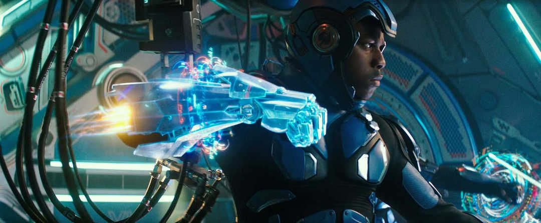 """John Boyega en la película """"Pacific Rim: Insurección"""""""