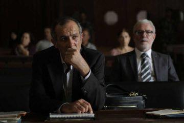 """Kamel El Basha en la película """"El insulto"""""""