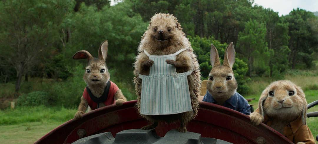 Los simpáticos amigos de Peter Rabbit