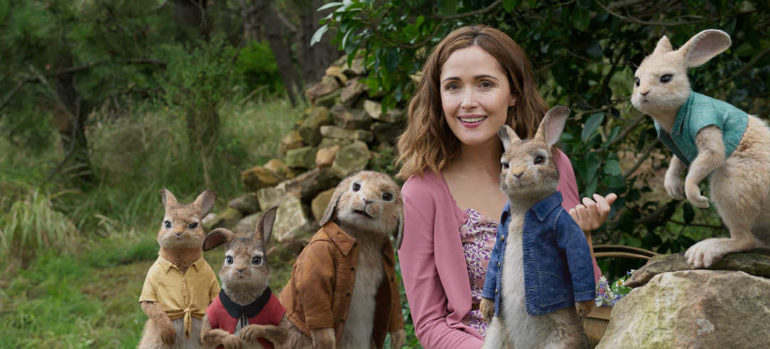 Rose Byrne, Peter Rabbit y sus hermanas