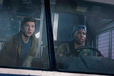 Lena Waithe y Tye Sheridan en una escena de la película