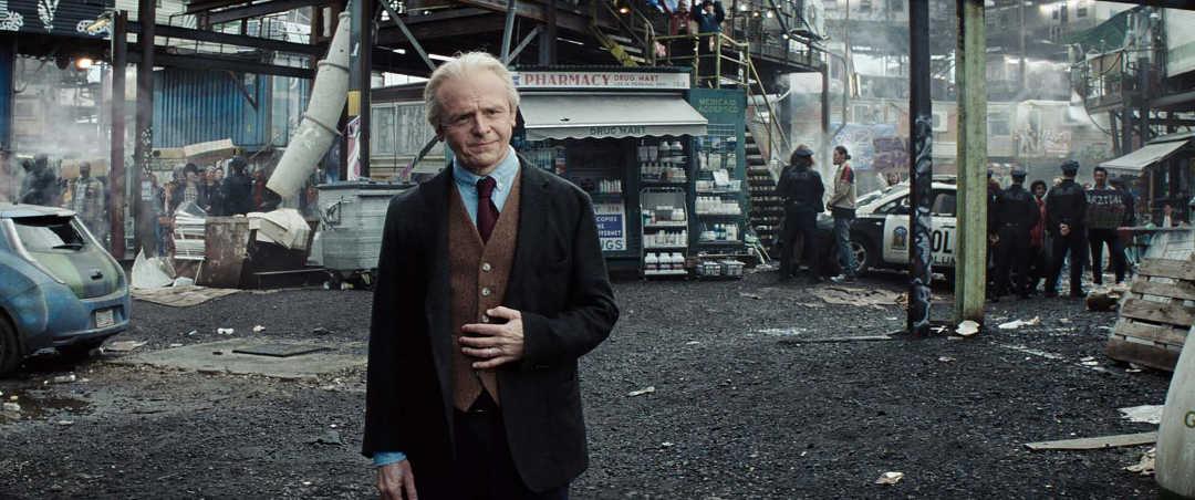 Simon Pegg en una escena de la película