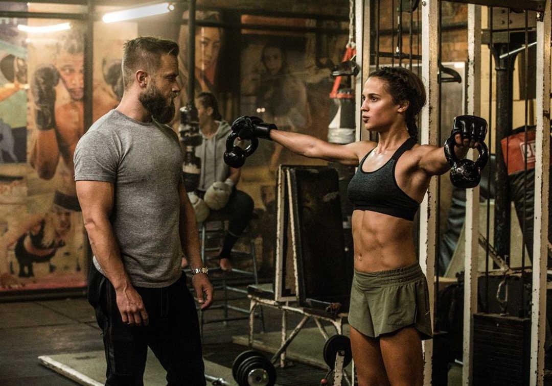 Alicia Vikander es Lara Croft en esta nueva aventura de 2018
