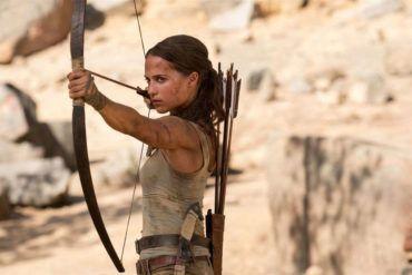 Alicia Vikander es Tomb Raider