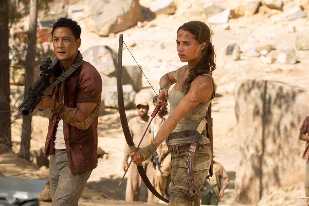 Alicia Vikander y Daniel Wu en una escena de la película