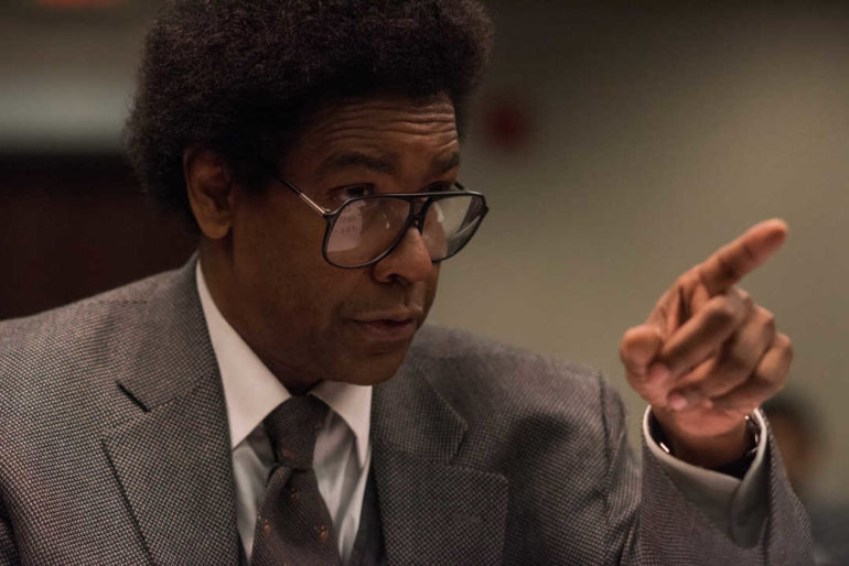 Denzel Washington es Roman J. Israel