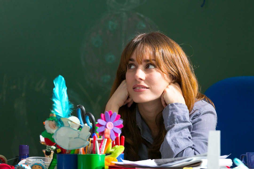 Silvia Alonso en la película