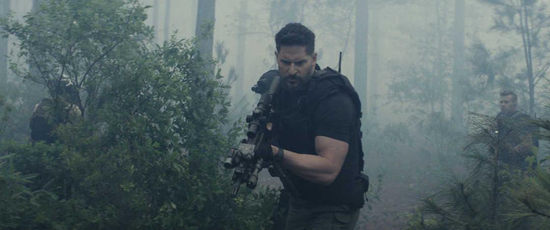 Joe Manganiello en la película Proyecto Rampage