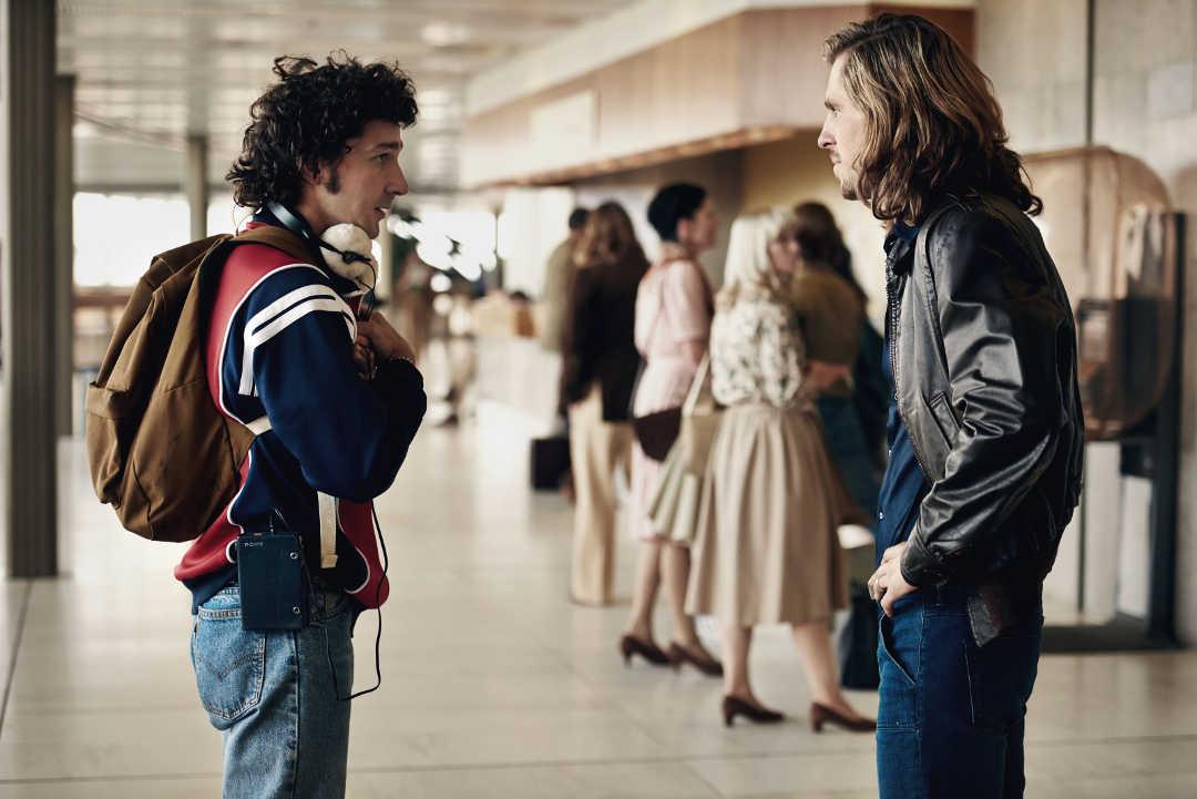 "Shia LaBeouf y Sverrir Gudnason en la película ""Borg McEnroe"""