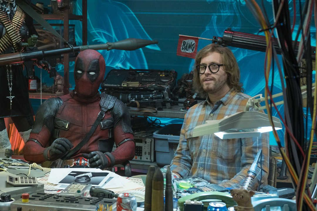 "Ryan Reynolds y T.J. Miller en ""Deadpool 2"""