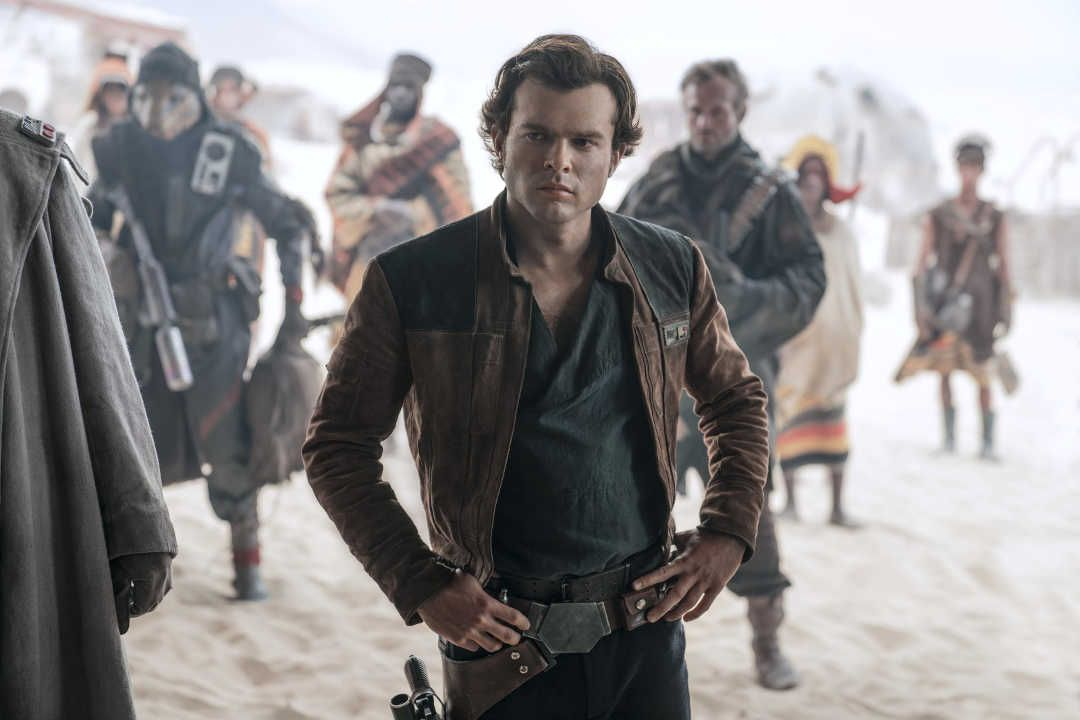 Han Solo: Una Historia de Star Wars protagonizada por Alden Ehrenreich