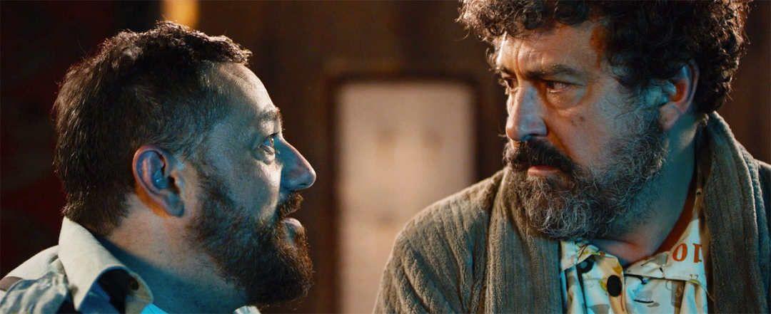 """Paco Tous y Pepón Nieto en una escena de la película """"El Intercambio"""""""