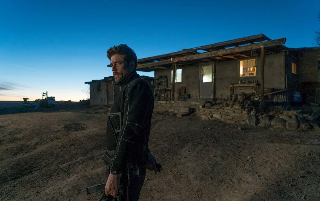 """""""Sicario: El día del soldado"""" protagonizada por Benicio Del Toro"""