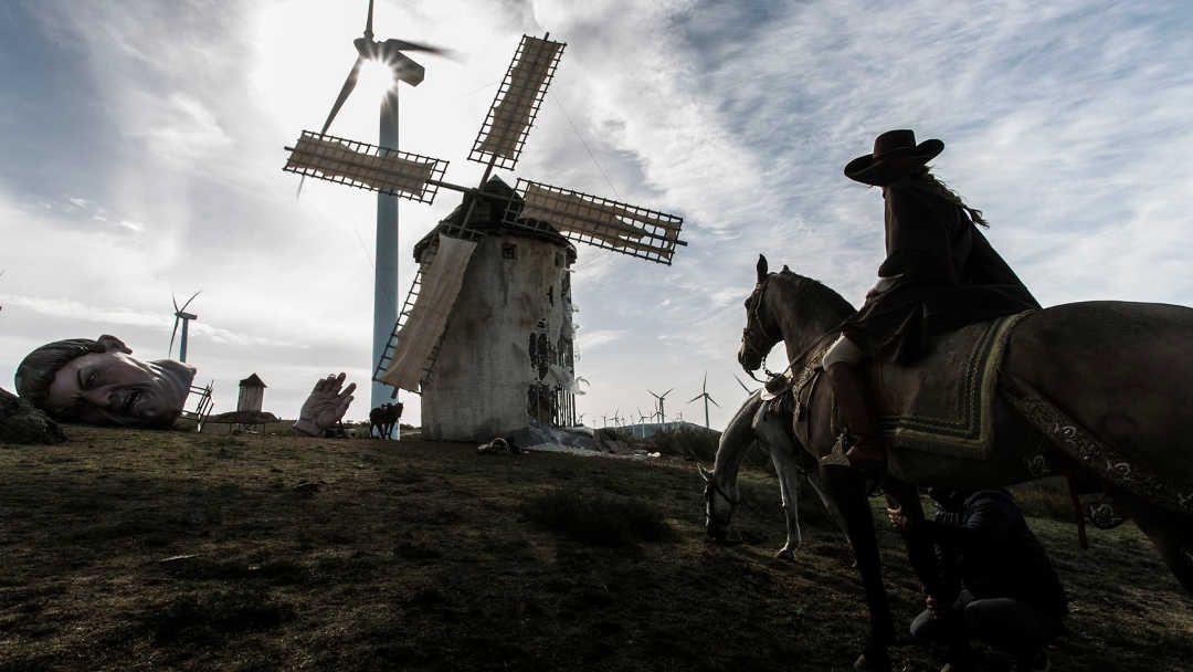 Los famosos molinos de Don Quijote