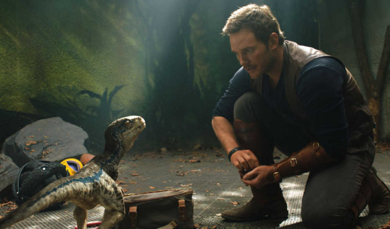 Chris Pratt en Jurassic World: El reino caído
