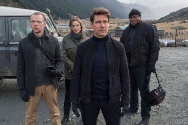 Rebecca Ferguson y Tom Cruise en Misión Imposible Fallout