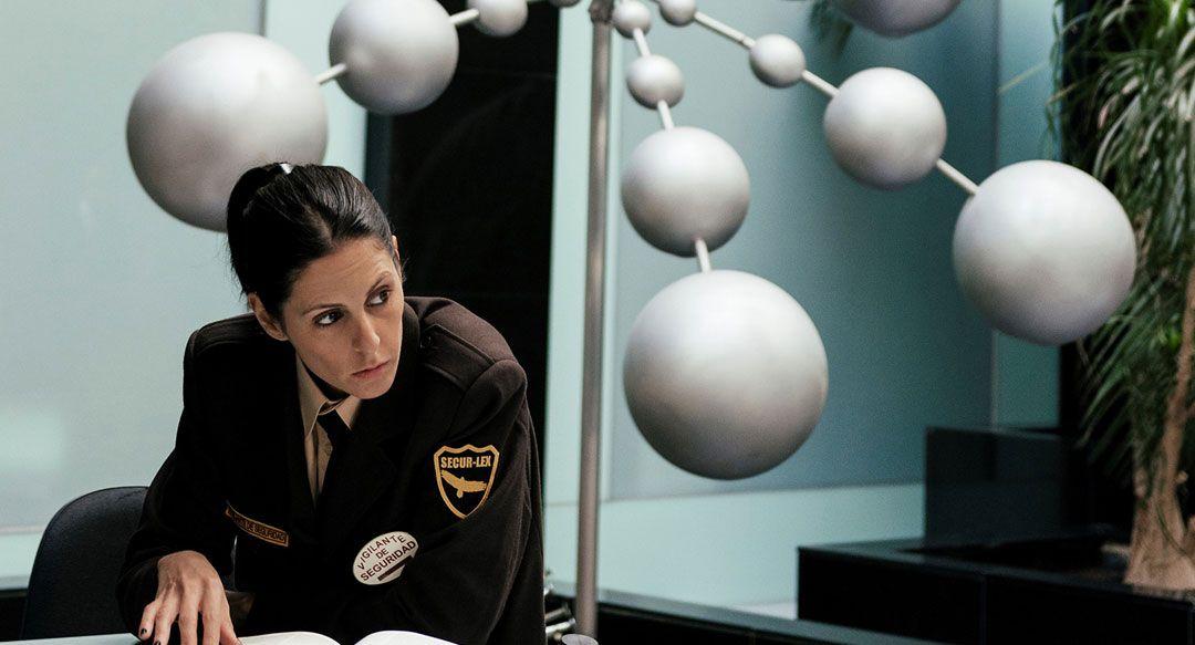 Bárbara Santa-Cruz tiene un pequeño papel en la película