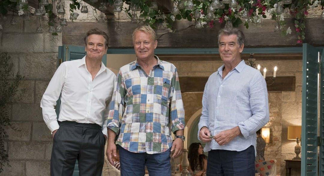 "Colin Firth, Pierce Brosnan y Stellan Skarsgård, siguen siendo los ""padres"""