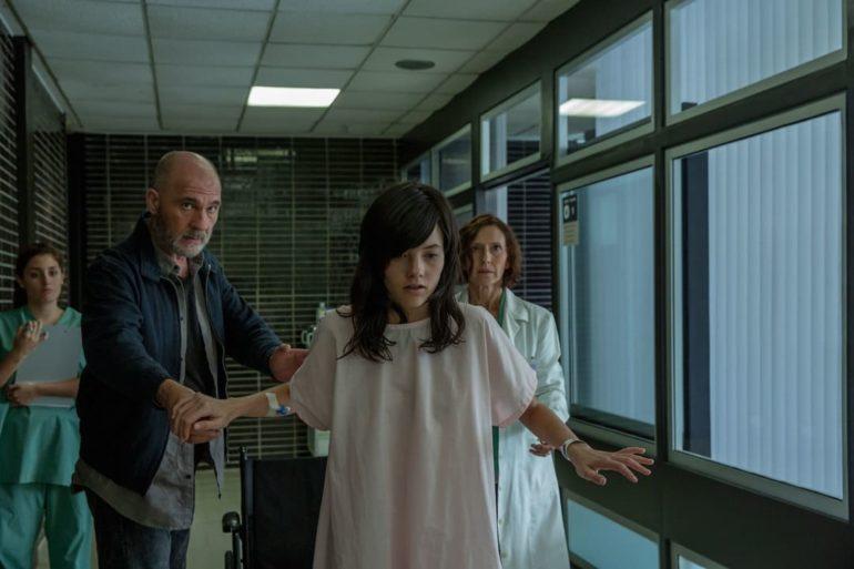 """Dario Grandinetti y Mireia Oriol en una escena de """"El pacto"""""""