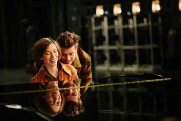 """Dan Stevens y Rebecca Hall en la película """"Una relación abierta"""""""